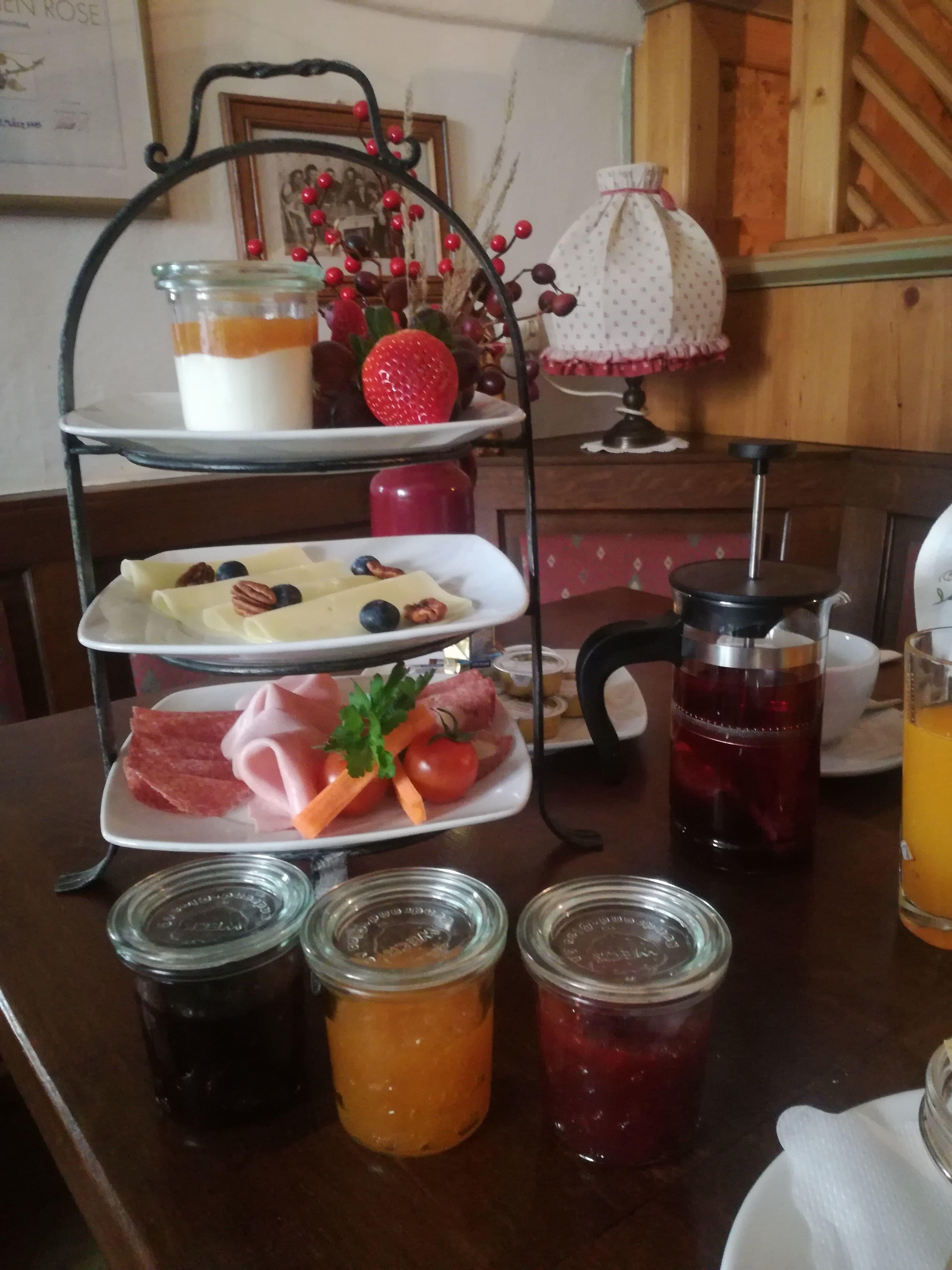 Frühstück Gasthaus zur Sone